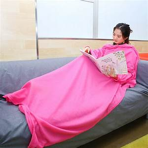 High Quality Sleeved Cuddle Blanket Throw Snuggle with ...