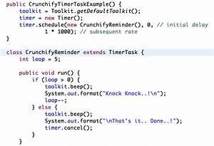 java string template - java timer and timertask reminder class tutorials