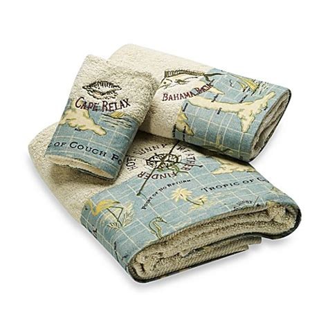 tommy bahama island song bath towels  cotton bed