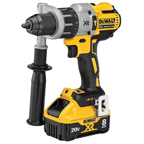 dewalt  max power detect cordless hammer drill