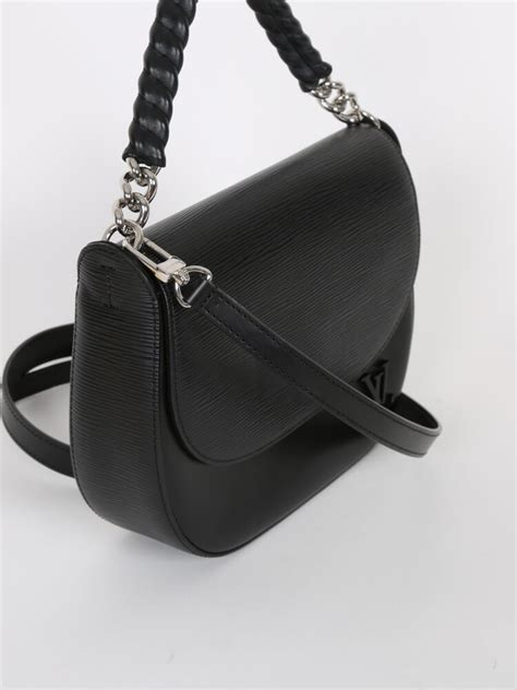 louis vuitton luna epi leather shoulder bag noir luxury bags