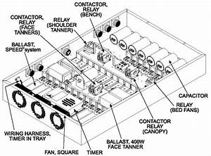 Old Style Tanning Bed Wiring Diagram