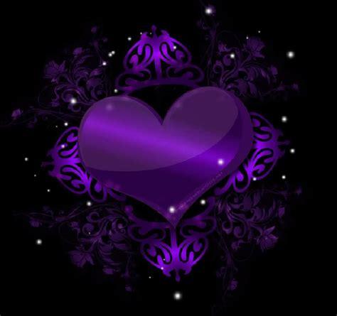 purple hearts backgrounds wallpaper cave