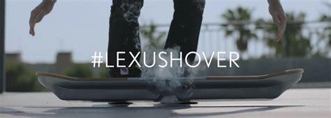gander toyota   lexus hoverboard ride revealed