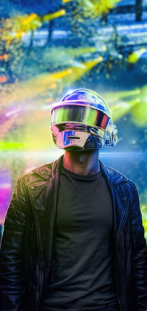 1080x2280 Daft Punk Helmet 4k One Plus 6,Huawei p20,Honor ...