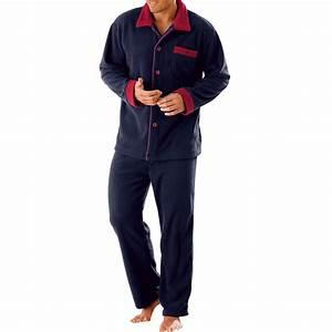 Pyjama Homme La Halle : pyjama polaire homme ~ Melissatoandfro.com Idées de Décoration