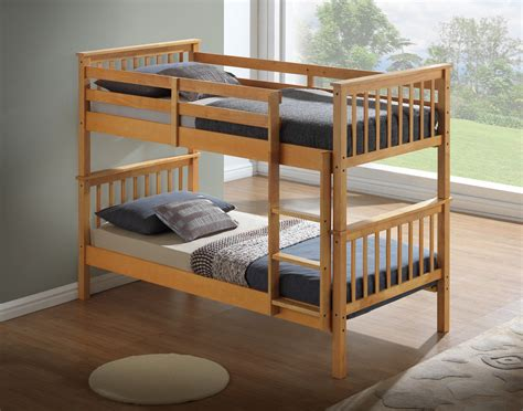 Buy Bunk Beds by Modern Beech Childrens Bunk Bed