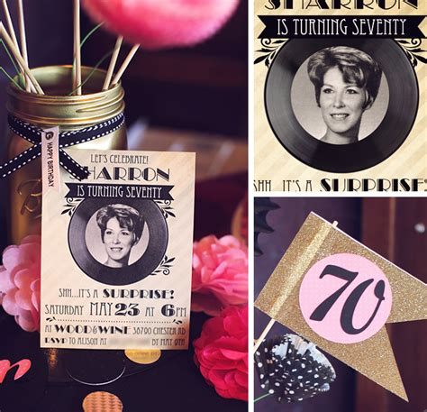 70 Birthday Decorations by 70th Birthday Ideas Archives Blue Mountain