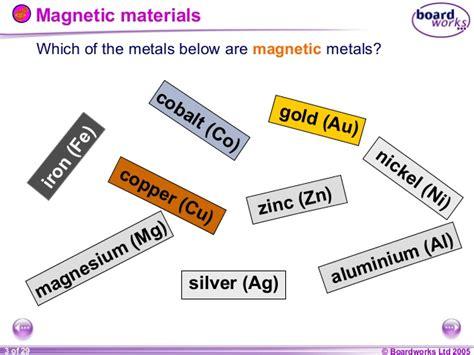 8 J Magnets & Electromagnets (boardworks
