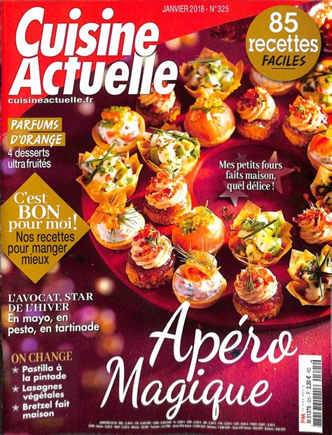 cuisine actuelle abonnement abonnement cuisine actuelle abonnement magazine par