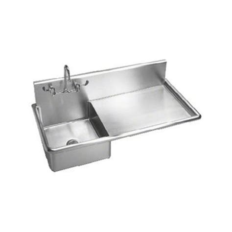 Just Sinks by Just Manufacturing A46712s Stainless Steel Wall Hung