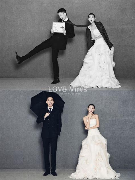 foto pre wedding ala korea  lucu romantis sederhana