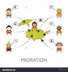 Migration People Clip Art
