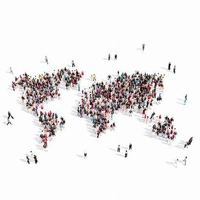 Population Shape Fedin Roman Dreamstime Global Map