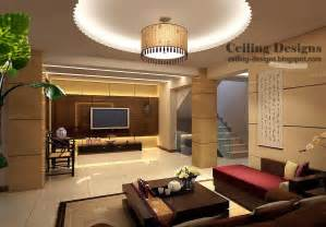 deckenbeleuchtung wohnzimmer led gypsum tray ceiling design with lighting for living room