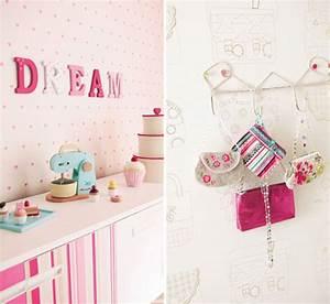 ceyshause ile dekorasyon: Kız çocukları için renkli duvar ...