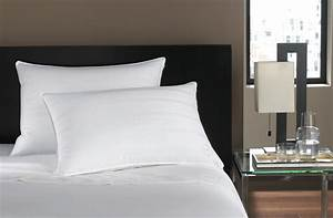 hotel collection bedding standard queen soft down pillow With best soft bed pillows