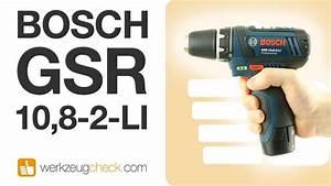 Bosch Gsr 10 8 2 Li Test : die referenz aus der 10 8v klasse akkuschrauber bosch gsr 10 8 2 li youtube ~ Watch28wear.com Haus und Dekorationen