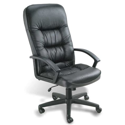 ergonomic leather chair for home office