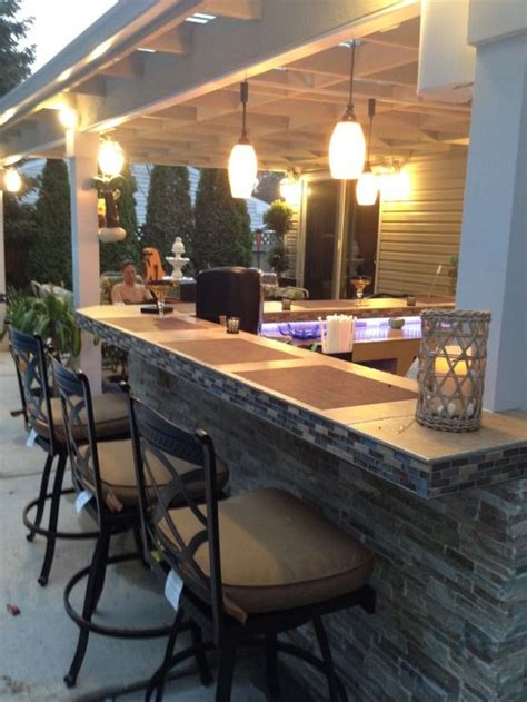 Patio Bar by Outdoor Kitchen Bar Patio Cover Our Of