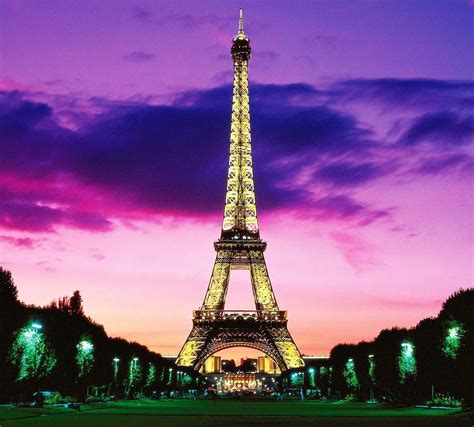 Eiffel Tower At Night Wallpapers  Wallpaper Cave