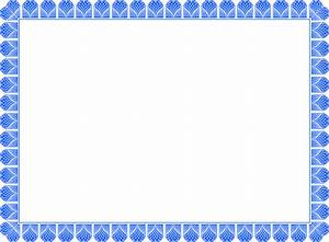 Certificate Of Recognition Examples 20 Printable Certificate Borders Blank Certificates