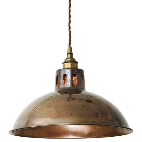 vintage brass pendant light mullan lighting