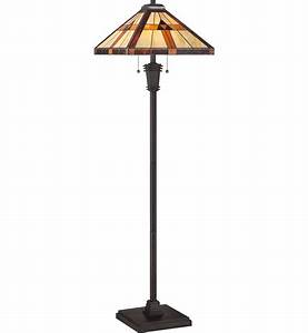 quoizel tf1427f tiffany floor lamp lampscom With tiffany floor lamp post