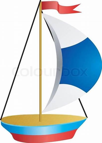 Skib Kleines Schiff Vektor Af Lille Colourbox
