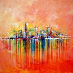 colibri cuisine tableau peinture abstrait impression de peinture abstraite