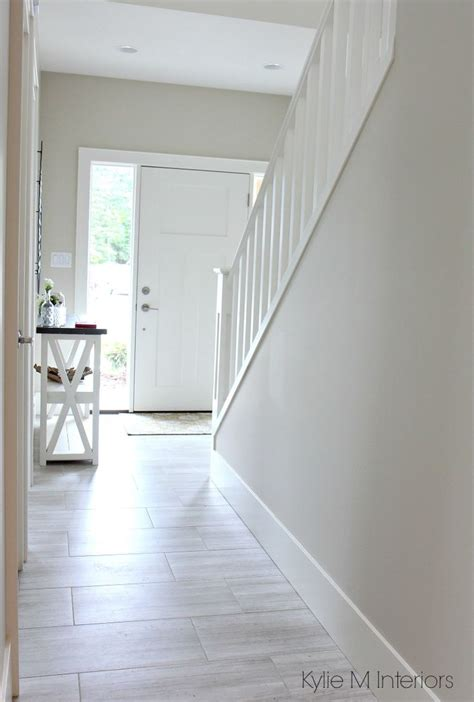 boring paint colours   dark hallway