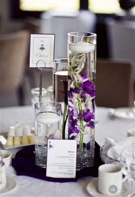 subtil and delicate previous pinner http www mariage original img violet centre de table