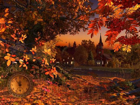Animated Autumn Wallpaper - 3d fall wallpapers wallpaper cave