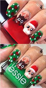 20 Fantastic DIY Christmas Nail Art Designs That Are ...