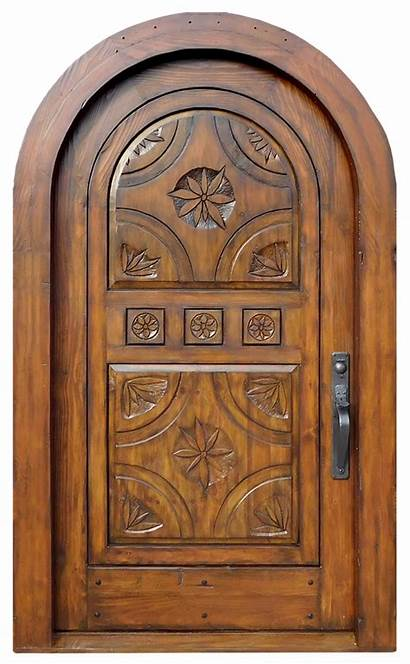 Door Arched Surround Doors Exterior Carved Entry