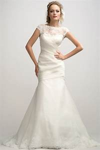 mermaid wedding dresses with short sleevescherry marry With wedding dresses short sleeves