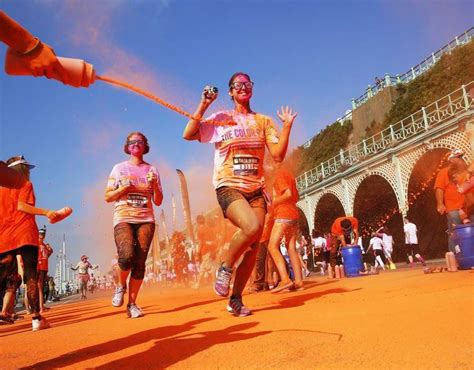 color run comes to brighton pictures pics express co uk
