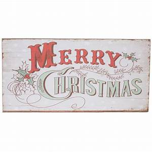 16, U0026quot, Wooden, Merry, Christmas, Sign, White, Xwm6016