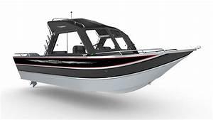 22 Foot Offshore Aluminum Fishing Boat
