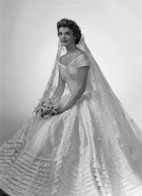 Vintage Bridal Icon Jacqueline Lee Bouvier Kennedy