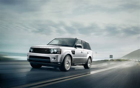 Land Rover Range Rover Wallpapers by 2013 Silver Land Rover Range Rover Sport Motion Side Angle