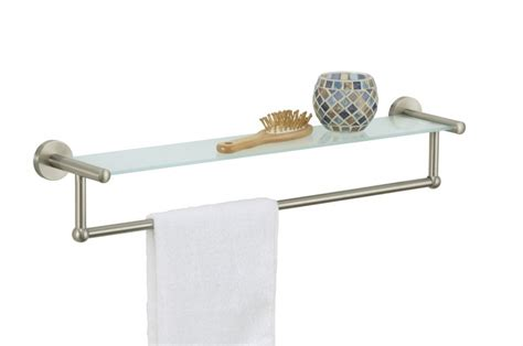 Glass Bathroom Shelves With Towel Rack by Top 20 Floating Glass Shelves For Interiors