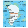 Greenland Map, Map of Greenland, Flags and Geography of ...
