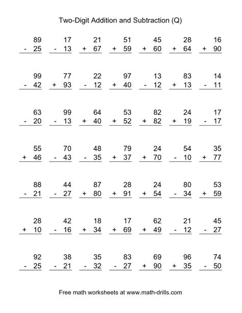 1st grade math worksheet addition and subtraction subtraction worksheets 1st grade worksheet mogenk paper