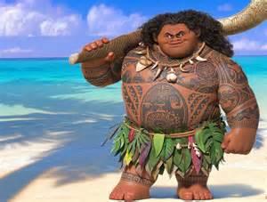 Disney Movie Moana Maui