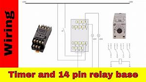 How To Wire The Timer  Relay And 14 Pin Relay Base