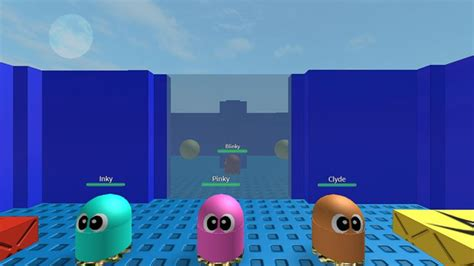 pac man roblox msp games