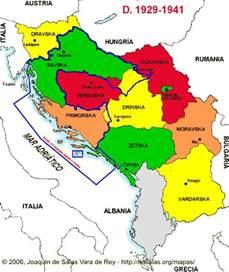 Europe Map Yugoslavia Today