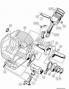 Engine - As11 Fe350 Engine  U2013 Crankcase And Crankshaft