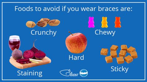 Your teeth may be a little tender for the first week while in braces, so we recommend sticking to just soft foods until the. Foods to eat with braces: What to avoid and enjoy safely